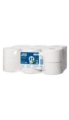 LOTUS - K115191 - Papier hygienique Lotus mini jumbo 2 plis - Lot de 12