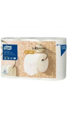 TORK - Papier hygienique Tork premium 4 plis - Lot de 6 rouleaux