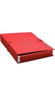 Exacompta - 22009E - Chemise dos extensible extensor à rabats 24x32cm - Rouge