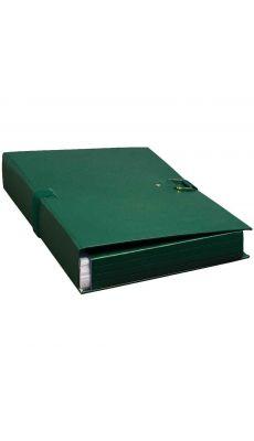 Exacompta - 22007E - Chemise dos extensible extensor à rabats 24x32cm - Vert