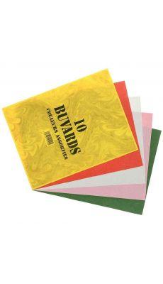 Coutal - 101005 - Papier buvard assorti - 16x21 cm - Paquet de 10