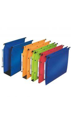 L'OBLIQUE - 683004 - Dossier suspendu L'oblique polypropylène armoire dos 80mm bleu - Paquet de 10