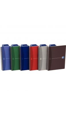 OXFORD OFFICE - 002204 - Cahier spirales petit carreaux A5 Oxford Office 180p 90g