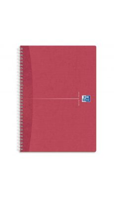 OXFORD OFFICE - 002234 - Cahier spirales recycle petit carreaux A4 180p 90g