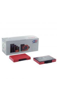 TRODAT - Cassette 6/56 encre rouge - boite de 10