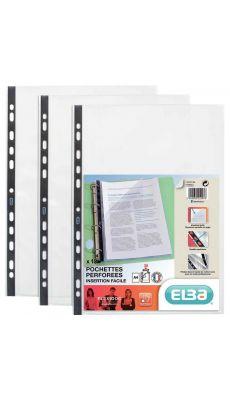 Elba - 970029 - Pochette perforée A4 Flexidoc - Sachet de 10