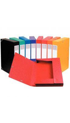 Exacompta - 140 Assorties - Boite de classement cartobox dos 40mm assorti - carton de 10