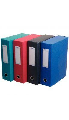 L'OBLIQUE - 45081-951 - Boite de classement Eurobox en carte grainee d80mm - carton de 5