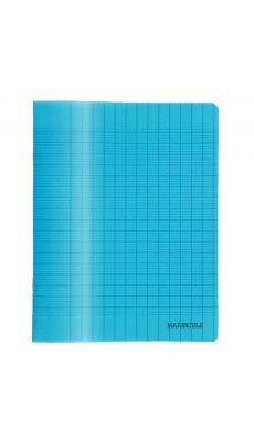 MAJUSCULE - 76309MAJU - Cahier d'ecriture piqures 17x22 32p polypropylene bleue