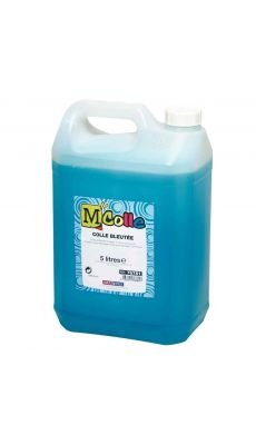 Colle bleutee m'colle - flacon 5 litres