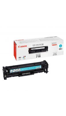 Canon - 718 - Toner cyan (2661B002)