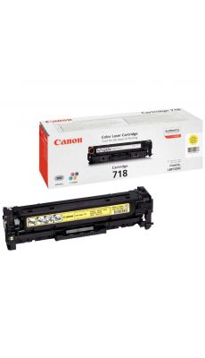 Canon - 718 - Toner jaune( 2659B002 )