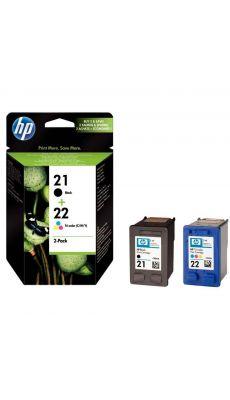 HP - SD367AE -  Cartouche Noir et Couleur N°21 / n°22