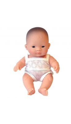 Poupee fille 21cm, asiatique