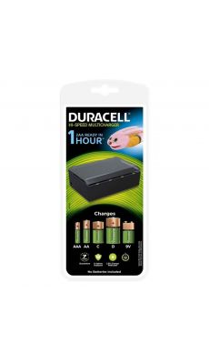 Duracell - CEF22 - Chargeur universel vide