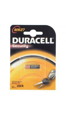 Pile 12v mn27 alcaline Duracell - Blister de 1