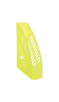 Porte revues fluor anis transparent