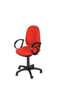 Chaise dactylo WEBSTAR rouge