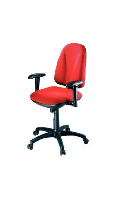 Chaise dactylo synchrone WEBSTAR rouge