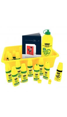 Twist & glue + recharge - Lot de 12 flacons