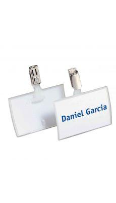 Durable - 8216-19 - Porte-badge avec clip 54x90 mm - Boite de 25