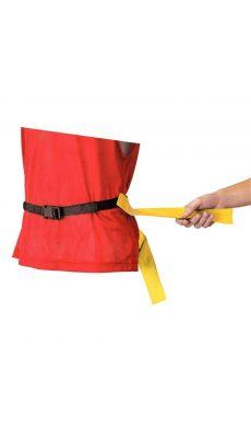 Tag belts (bleu et rouge) - Lot de 6