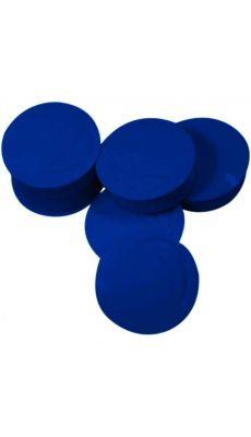 Punaise magnetique d22 coloris bleu - Blister de 6