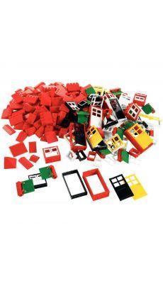 Porte + fenetre + chassis Lego basic - boite de 278 pieces