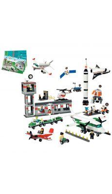 """Jeux Lego """"boite aerospatiale"""" 1176 pieces"""