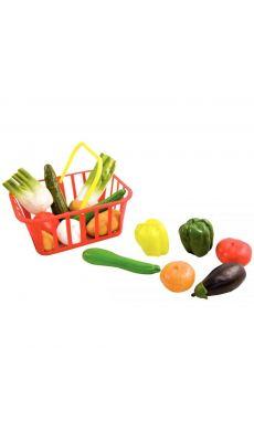 Panier de 15 legumes taille reelle