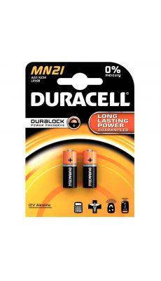Duracell - 203969 - Pile alcaline 12V - A23 / MN21 - Blister de 2