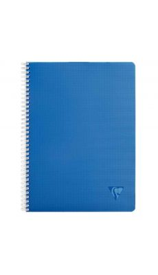 Clairefontaine - 329125 - Cahier spirale Linicolor intensive petit carreaux A4 - 100 Pages