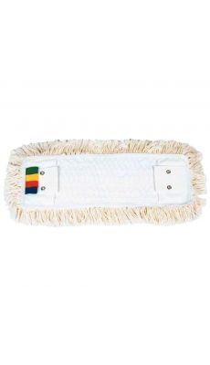 Frange languette 40 cm coton