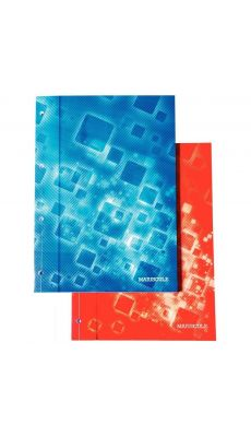 MAJUSCULE - 82047 - Bloc de cours 200 pages micro perforées détachables, seyes. Format A4 (21 x 29,7 cm)