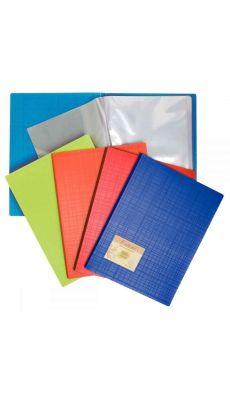 Exacompta - 883570E - Protège-document forever polypropylène recyclé - 60 vues - Assortis