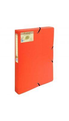 Exacompta - 553575E - Boite de classement polypropylène 24x32cm - Dos 4cm - Orange
