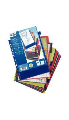 L'OBLIQUE - 100205089 - Intercalaire personnalisable polypropylene A4 - jeu de 12