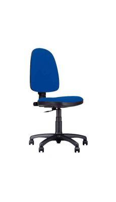 Chaise dactylo bleu