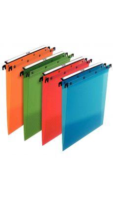 L'OBLIQUE - 385590 - Dossier suspendu Esselte tiroir en polypropylene dos v couleur assortie - Paquet de 10