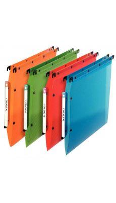 L'OBLIQUE - 683700.1 - Dossier suspendu Esselte armoire en polypropylene dos v couleur assortie - Paquet de 10