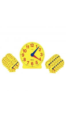 Set de Coffret 25 Horloges Jaunes