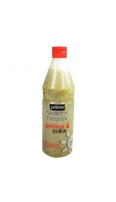 PEBEO - 603722 - Vernis gouache pailleté or - Flacon de 1L