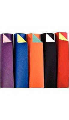MAILDOR - 457299C - Papier cartoline bicolore 21 x 29.7 cm 150 g couleurs assorties - Paquet de 100 feuilles