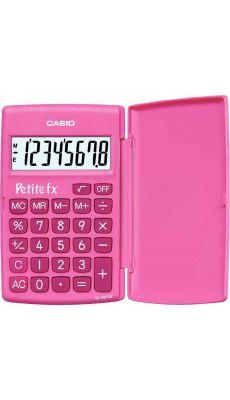 Casio - LC-401LV-PK-S - Calculatrice de poche 8 chiffres Petite FX Rose