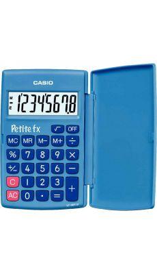 Casio - LC-401LV-BU-S - Calculatrice de poche 8 chiffres Petite FX Bleu
