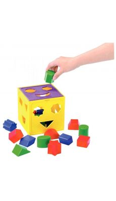 Cube des formes géométriques