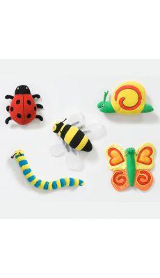 Set de 5 Insectes scratch Géant