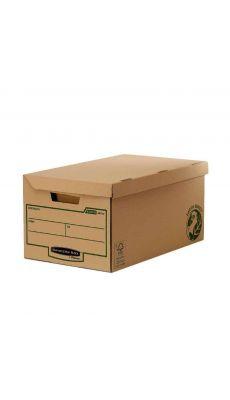 Fellowes - 4472205 - Conteneur archivage avec Couvercle - Paquet de 10
