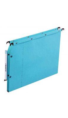 L'OBLIQUE - 500501 - Dossiers suspendus L'oblique Azv Ultimate(R) pour armoire dos 15 mm bleu - paquet de 25