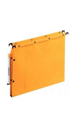 L'OBLIQUE - 501511 - Dossiers suspendus L'oblique Azv Ultimate(R) pour armoire dos 15 mm jaune